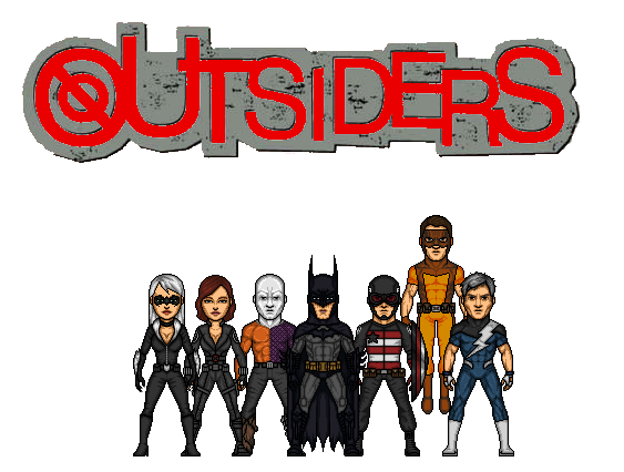 CMDU: The Outsiders by Comicboy02