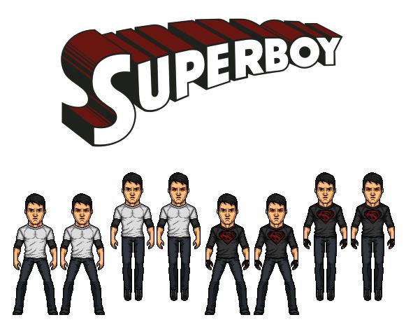 CMDU: Superboy. by Comicboy02