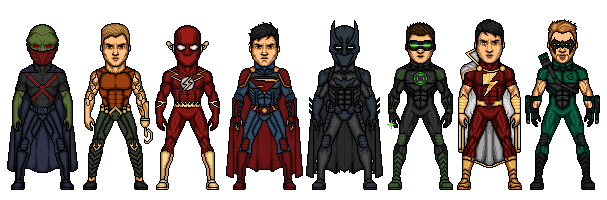 Judgment League of America by Comicboy02