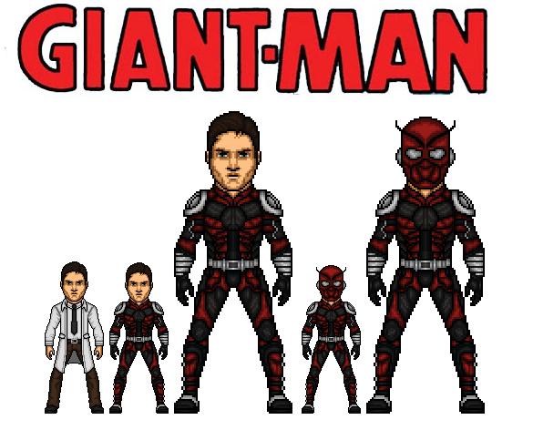 CMDU: Giant-Man. by Comicboy02