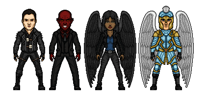 LEGION: Hell 'n Heaven. by Comicboy02