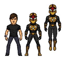 Comicmorpher: Marvel #6. Nova by Comicboy02