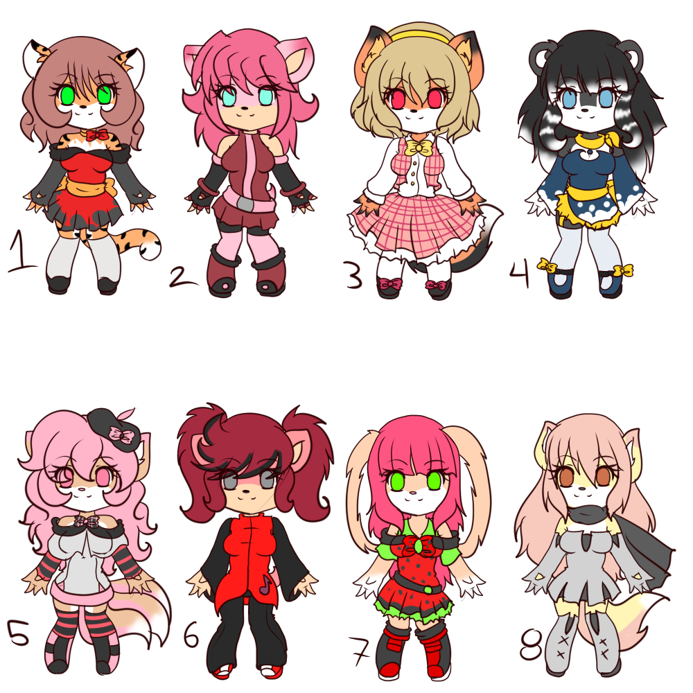 Point adoptables set 10 -OPEN- by Anini-Chu on DeviantArt