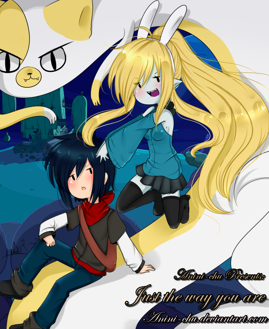 Just the way you are :comic cover: by Anini-Chu