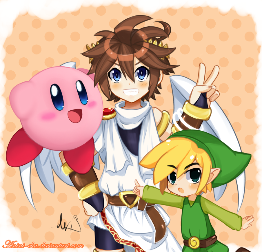 Smash team! by Anini-Chu