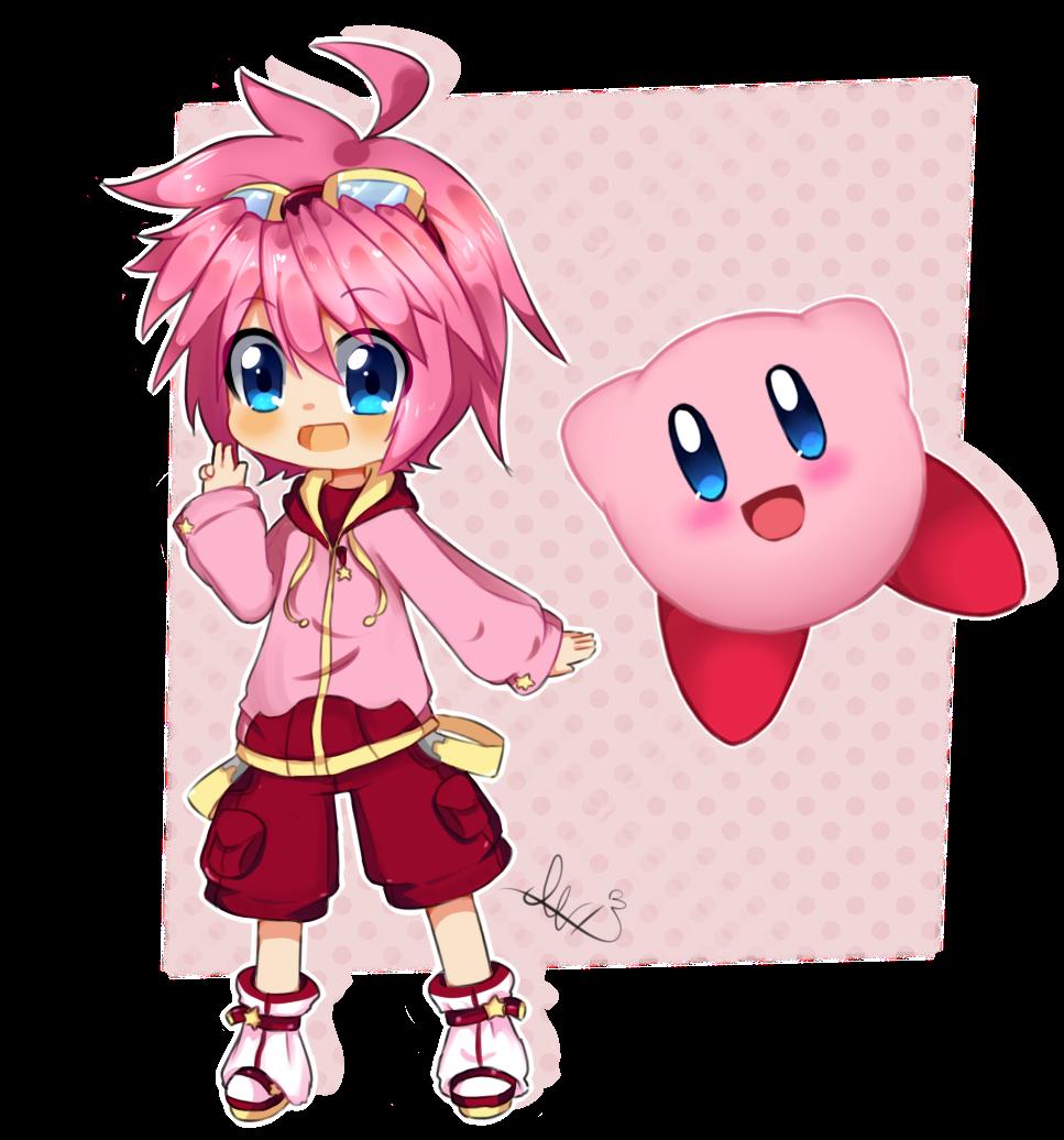 Kirby Human Anime