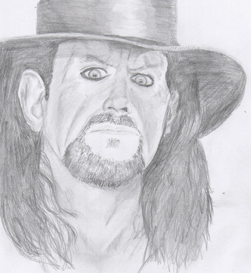 coloring pages of the undertaker - undertaker wwe by jammeskilmister on deviantart
