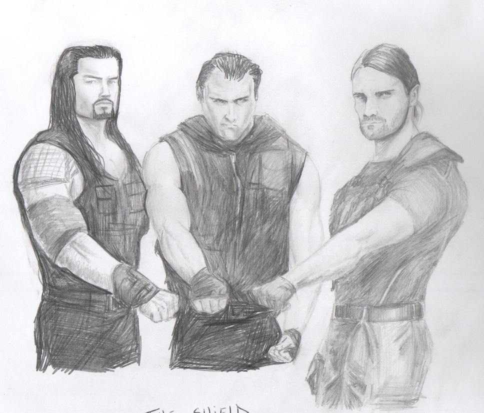 The Shield - WWE by jammeskilmister on DeviantArt