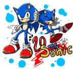 Sonic the hedgehog 20th