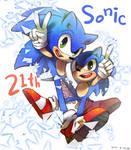 Happy 21th Sonic