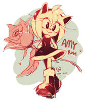Rose by Hanybe