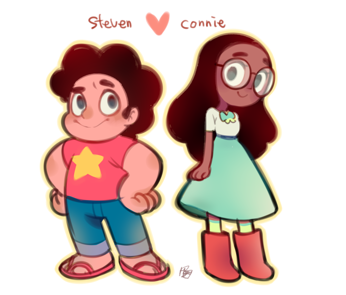 Steven and Connie by Hanybe