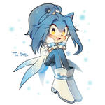 Yuki the hedgehog by Hanybe