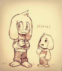 Asriel by Hanybe