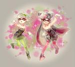 Squid sisters by Hanybe
