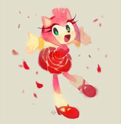 Rose dress by Hanybe