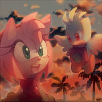 Amy and Liri by Hanybe