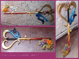 KHII - Kairi Flower Keyblade by AridelaAriadne