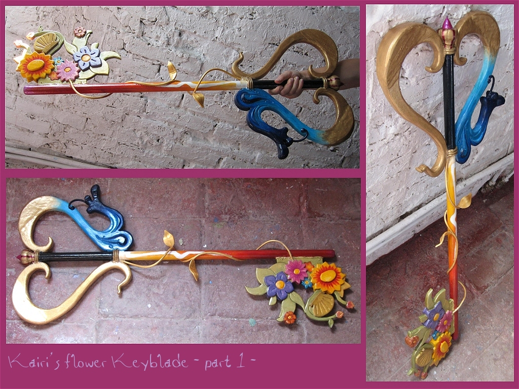 Kairi KHII KHII___Kairi_Flower_Keyblade_by_TyphoidMary