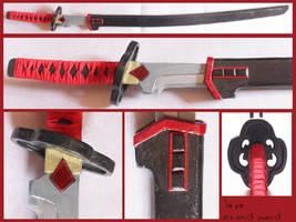 BLOOD + - Saya second sword by AridelaAriadne