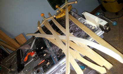 WIP - swords in progress by AridelaAriadne