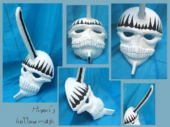BLEACH - Hiyori's hollow mask by AridelaAriadne