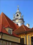 Austria - The Blue Church by AgiVega