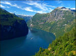 Norway - View of the Geiranger