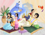 Aladdin's Little Family