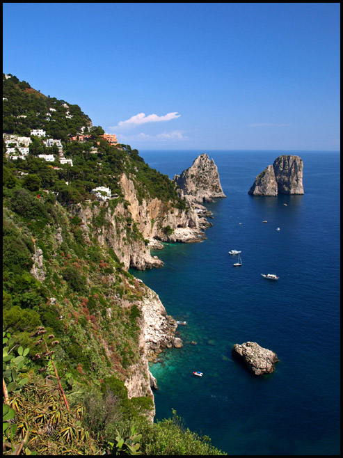 Capri - From Augustus Garden by AgiVega