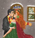 Eloped from the Xmas party