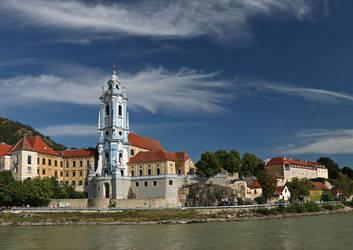 Durnstein viewed from the Danube