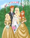 When the bridesmaid...