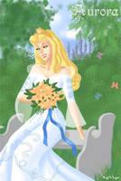 Aurora the bride by AgiVega
