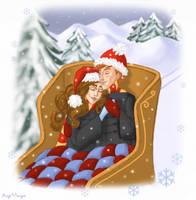 Cuddling in a Sleigh by AgiVega