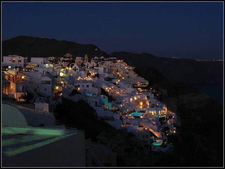Greece - Oia By Night