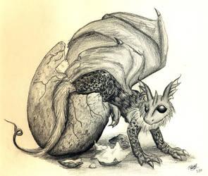 Hatchling by Sheenaza