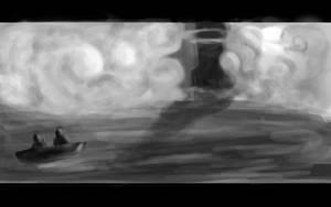 The Phantom Lighthouse by Meteos90