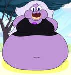 Amethyst Very Fat on Thanksgiving
