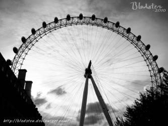 London Eye by Blodsten