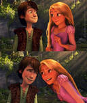 Hiccup and Rapunzel!