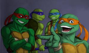 Mean, lean, green incredible team by fearlarsen
