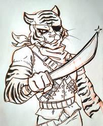 Tiger Claw by fearlarsen