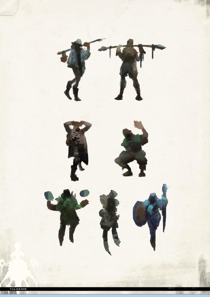 Valgrind Viking Silhouettes by dekdev