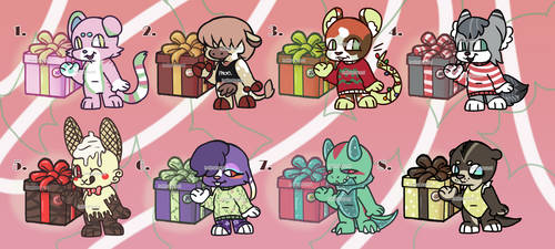 Mystery gift adopts(CLOSED - 0/8) by hellnu