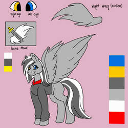 Excalibur Ref sheet - commission
