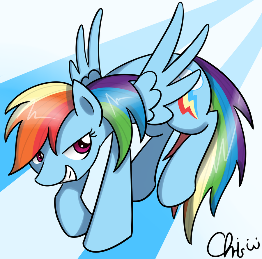 Rainbow Dash by NekoCrispy