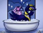 :Commission: Bath Time~