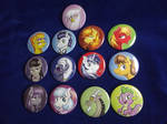 New pony buttons~