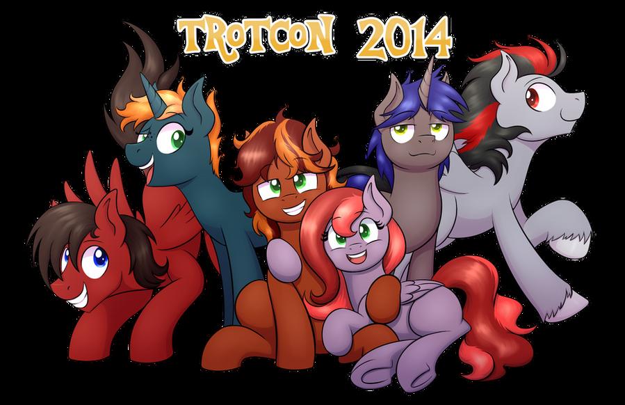 :Commission: Trotcon 2014 by NekoCrispy